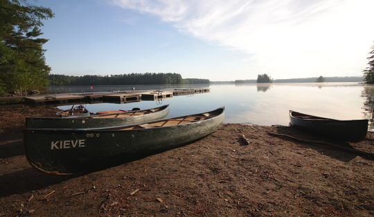 canoe-lake-damariscotta-camp-kieve-great-mother-conference